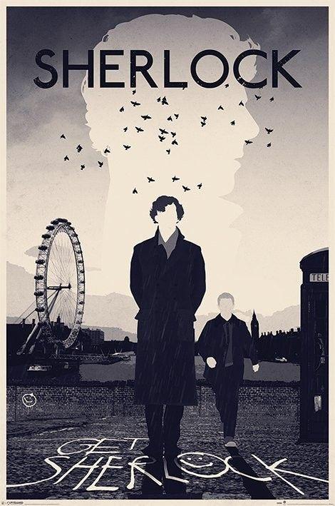 This would make an amazing wallpaper! Sherlock Holmes