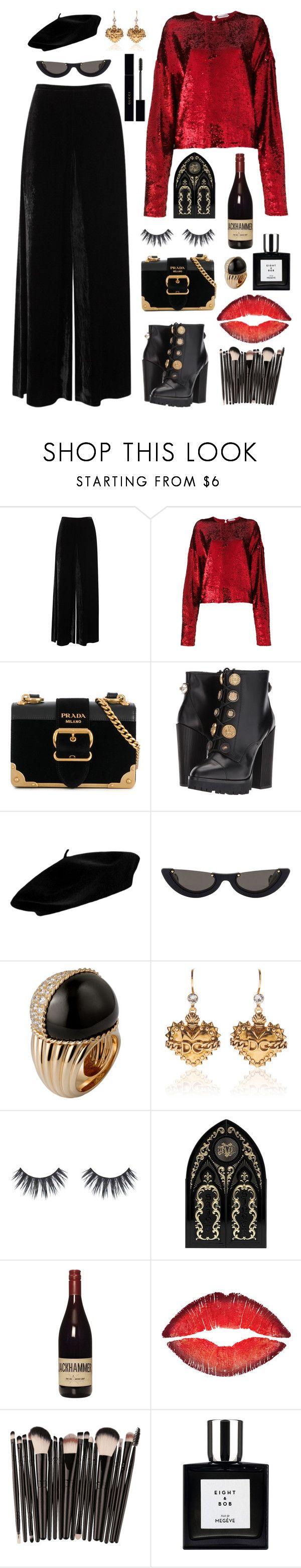 """mon chéri"" by ytopia on Polyvore featuring мода, M Missoni, Giacobino, Prada, Dolce&Gabbana, PAWAKA, Kat Von D, Givenchy и Gucci"