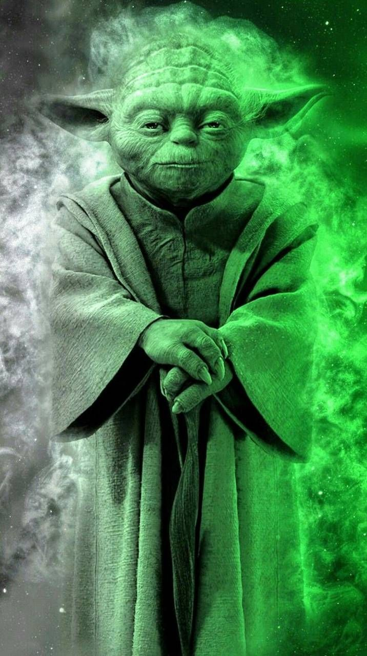 Cool Backgrounds In 2020 Star Wars Background Star Wars Painting Star Wars Yoda