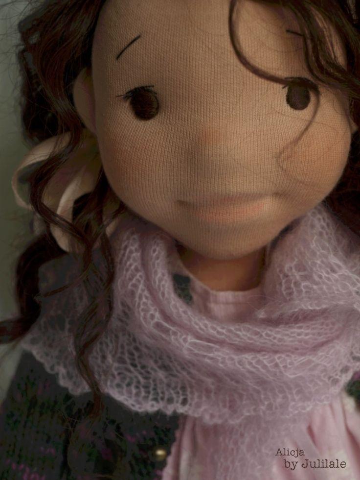 Waldorf inspired doll, Alicja by julilale, Art doll