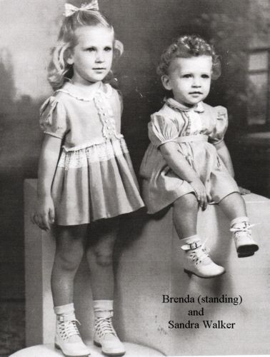 Sandra Eleane Walker-Sandra was only 2 when she and her family sadly perished in a plane crash on Oct. 31, 1947.