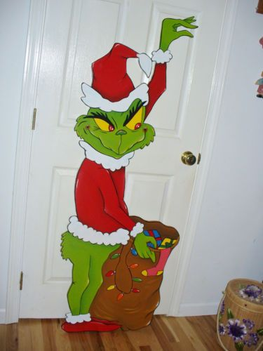 Details About 6 1 2 Ft Hand Made Grinch Stealing