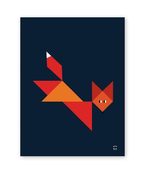TANGRAM poster - Fox