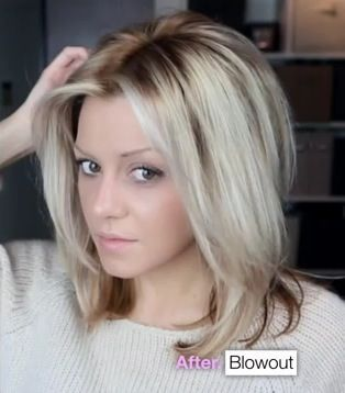 Blowout Hairstyle Awesome 8 Best Blowout Midlength Haircut Images On Pinterest  Blowout