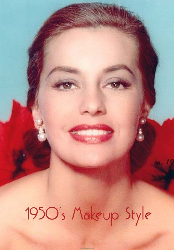 1950s Makup Style. The 50s Makeup Style Is Elegant, Simple