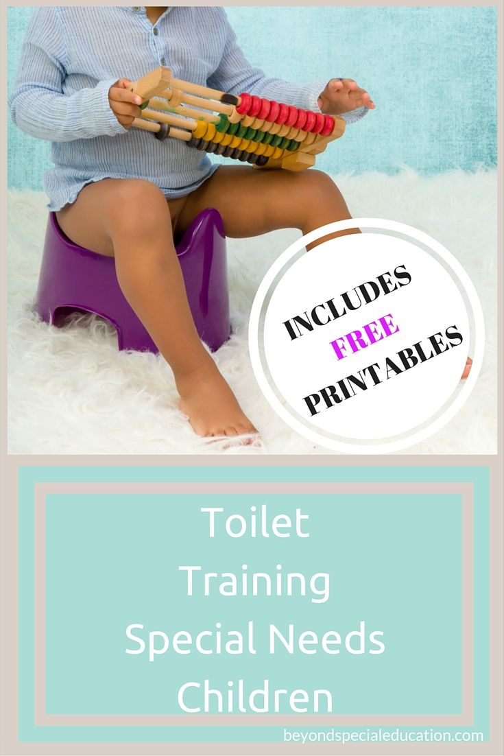 Potty training special needs children can come with many challenges. However, the first thing you have to determine is their readiness. Use these FREE PRINTABLES to take data on your child's toilet training.