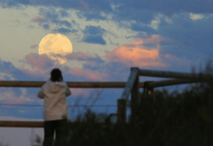 La superluna ha iniziato a farsi vedere nel Pacifico, in Nuova Zelanda e Australia. Stanotte qui da noi tutti col naso all'insù per ammirarla. Il satellite della Terra tornerà a splendere in cielo con dimensioni più grandi del solito, il 12% più grande e il 30