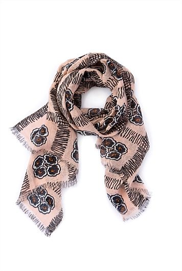 Vintage Floral Scarf. Country Road. $79.95
