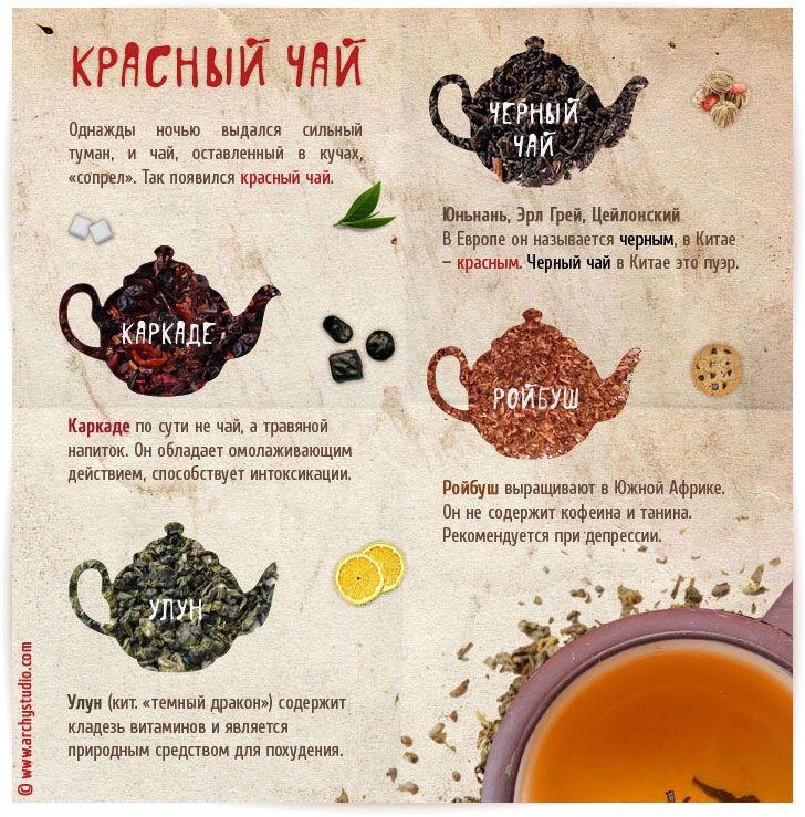 Красный чай | Графический дизайн | Портфолио - ArchyStudio.ru