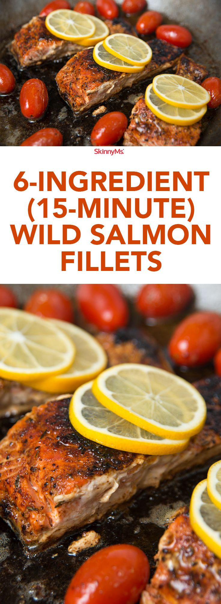 6ingredient Wild Salmon Fillets Cooking Salmoncooking Fishwhat's