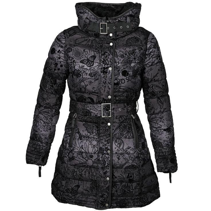 Doudoune Femme Spartoo, achat Doudoune Desigual PEGGY BABY Noir prix promo SPARTOO 199.00 € TTC