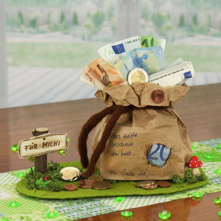 Geldgeschenke Geburtstag selber basteln | Idee von…