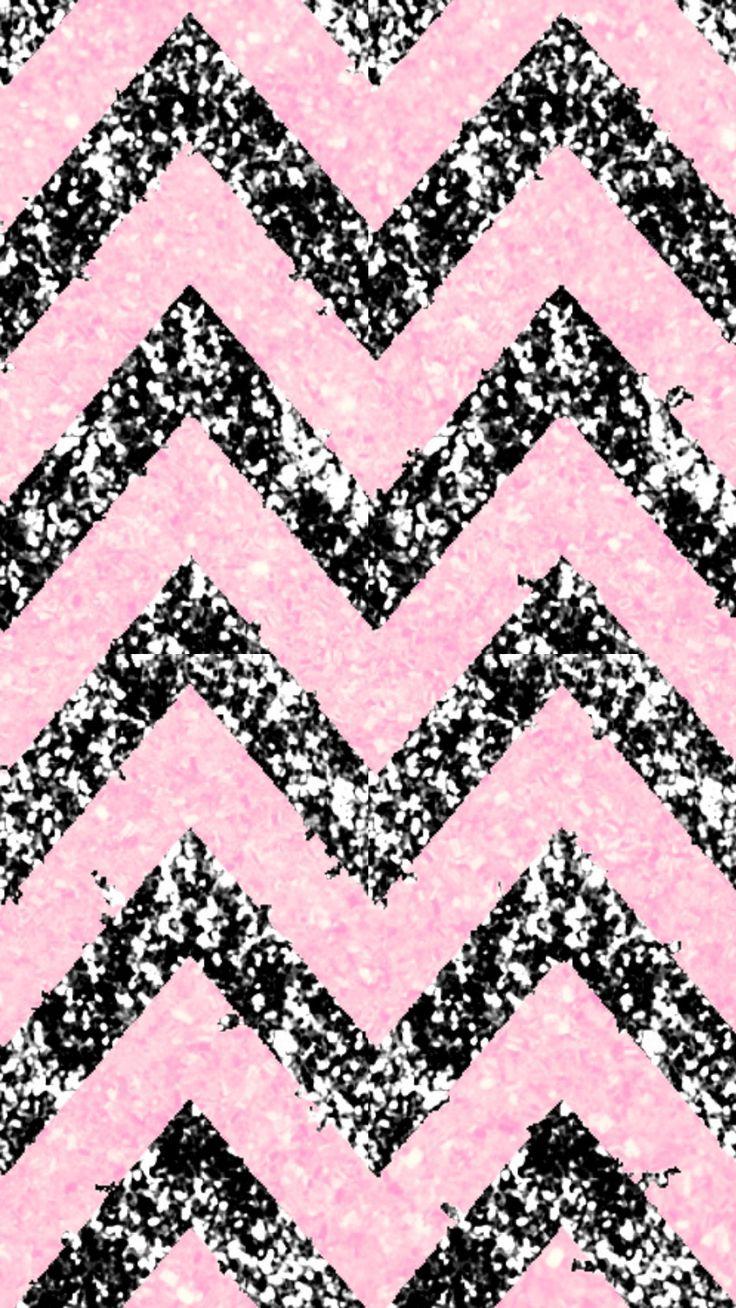 Pink & Black and White zigzag wallpaper.. Pembe & Siyah ve Beyaz zigzag arkaplanları..
