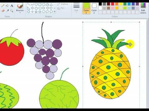 Tutorial Paint 4 - YouTube