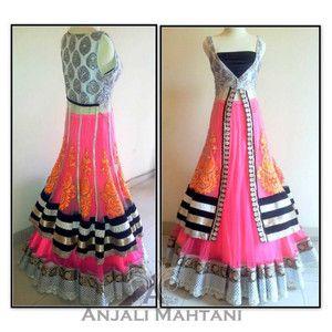 Indian Womens Pakistani Salwar Bollywood Designer Anarkali Suts Kurti Replica   eBay