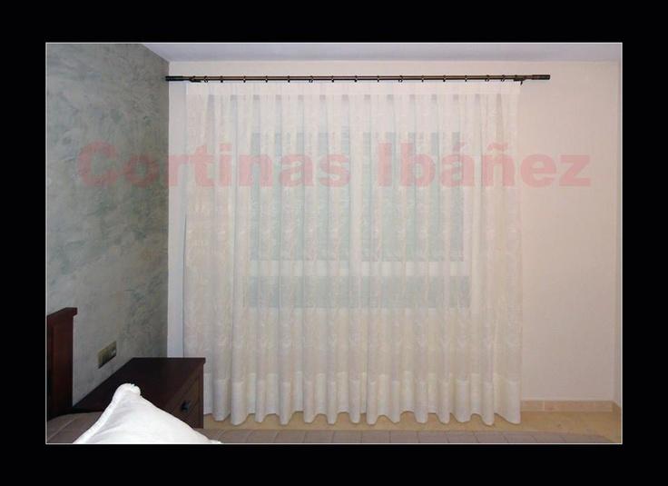 M s de 1000 ideas sobre rieles para cortinas en pinterest for Cortinas tipo visillo