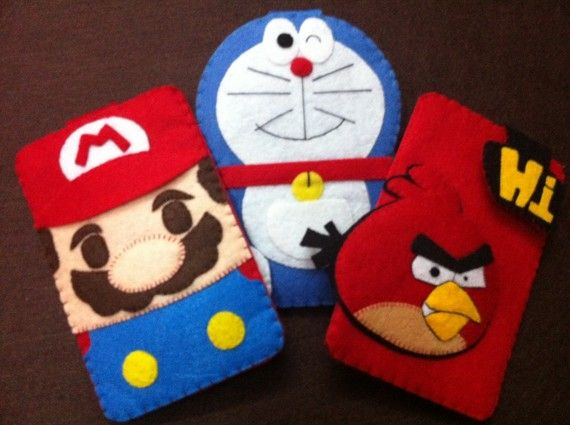 How freaking cute are these? iPhone cases!