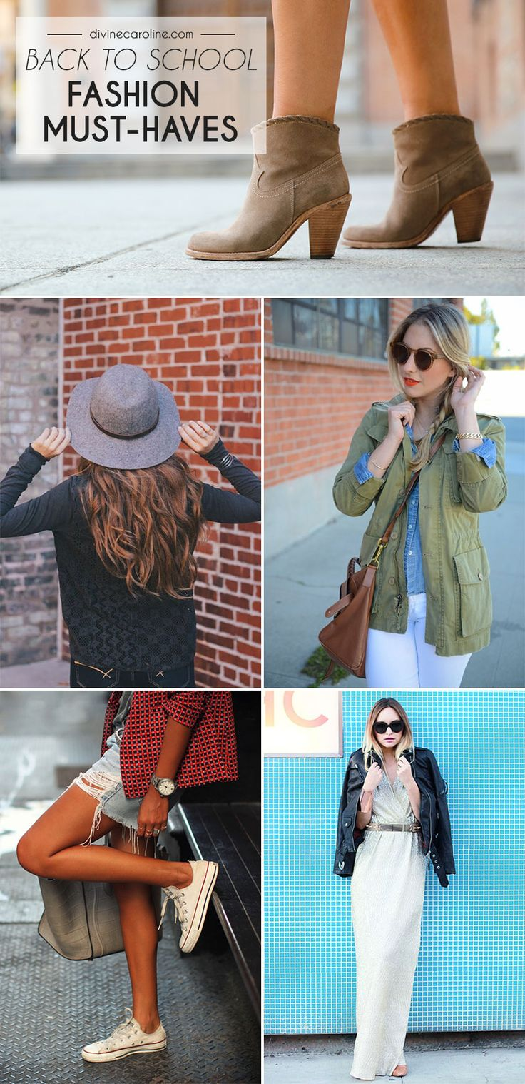Fashion Must Haves: 17 Best Ideas About School Fashion On Pinterest