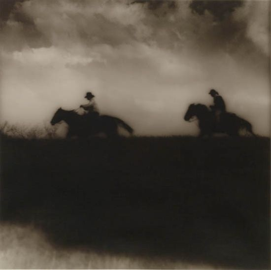 "SPENCER, JACK (1951- )   ""Riders Across the Levee."": Spencer Jack, Jack Rider, Art Photog, Spencer 1951, Jack Spencer, Post Artists, Artsy Fartsy, Incr Photos, Levee Photos"