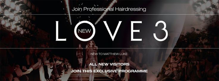 Introduce your friends to Matthew Luke Hair & they'll Love3 you for it! Special promotions & gifts for every new guest!
