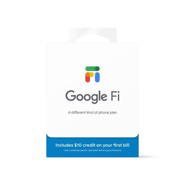 Google fi sim card kit in 2021 card kit netflix gift