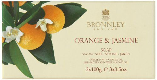 Bronnley Orange and Jasmine Soap 100g Pack of 3 Bronnley http://www.amazon.co.uk/dp/B003O4UOAK/ref=cm_sw_r_pi_dp_Lieuwb1XRV7TC