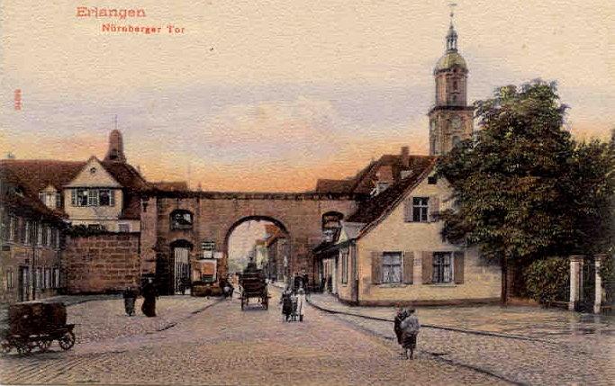 Nürnberger Tor in Erlangen