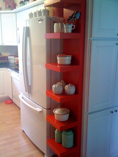 Red Kitchen Pantry At Ikea