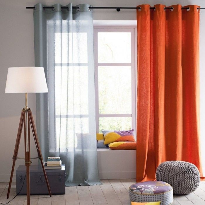 IKEAのカーテン