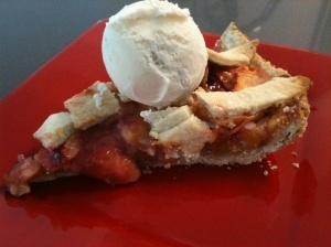 Peach and Plum pie | Delicious Pies & Tarts | Pinterest