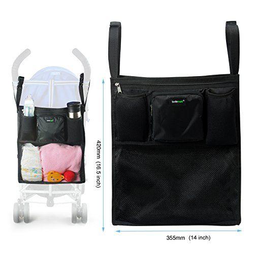 Lavievert Functional Stroller Organizer Diaper Bag