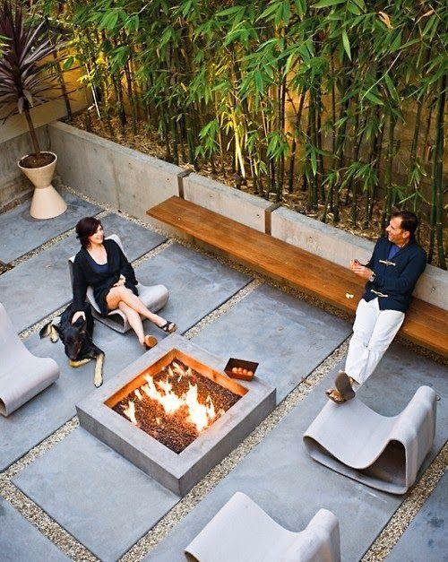 Arquitetura.com: Fogueiras no quintal, diversão garantida!