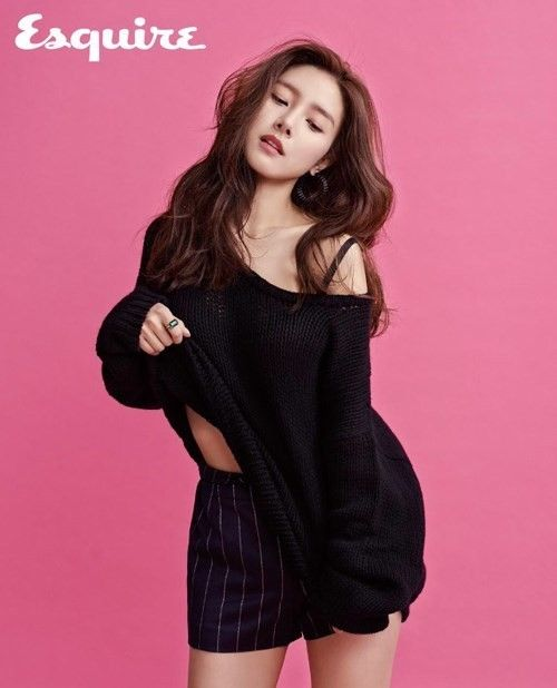 #KimSoEun Is #Flirty and #Chic for Esquire Magazine