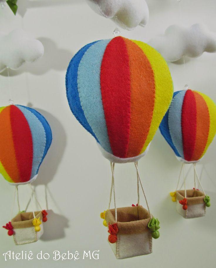 baby air balloons! http://roseaneatelier.blogspot.com.br