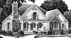 Sara's Place - Southern Avenues | Southern Living House Plans 3221 sq ft 3 bedrooms on main floor, 1 upstairs