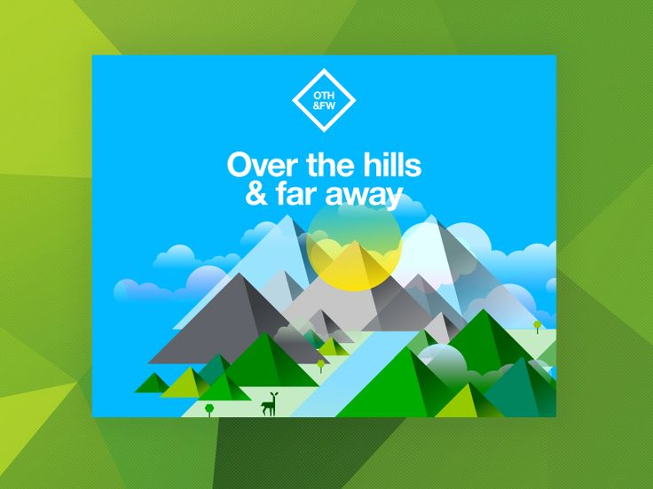 Over the hills and far away by STUDIOJQ