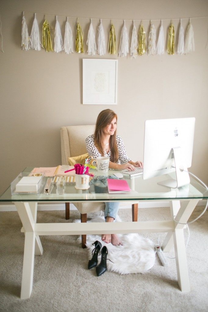 OFFICE TOUR: BONNIE BAKHTIARI OF B IS FOR BONNIE