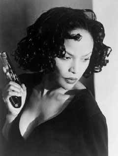 Building on a solid career established in the 1980s, Lynn Whitfield emblazoned her image into cinema history with her praiseworthy, Emmy-winning performance as Josephine Baker in the 1991 HBO biopic The Josephine Baker Story, based on the life of Josephine Baker. Whitfield scored again twice in the 1990s with her portrayal of Roz Batiste, the troubled wife and mother in 1997's Eve's Bayou and as the wealthy,scorned wife and mother in 1998's The Wedding opposite Halle Berry.