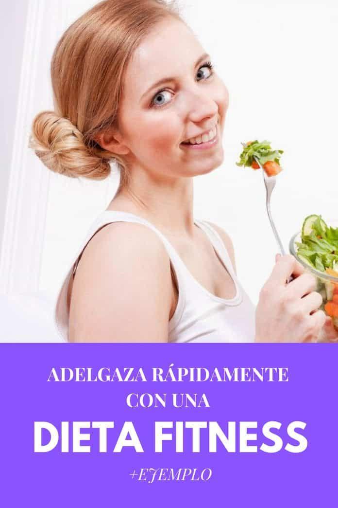 ejemplo de dieta fitness para mujeres