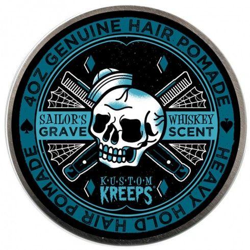 Kustom Kreeps Sailors Grave Heavy Hold Hair Pomade $18