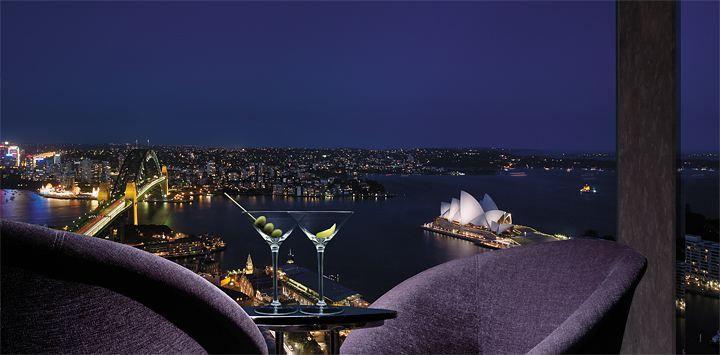 Melhores lugares para comer e aproveitar a vista: Shangri-La Hotel, Sydney