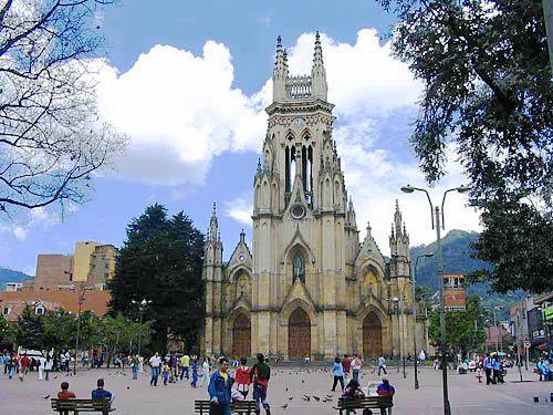 Church in Bogota, Colombia
