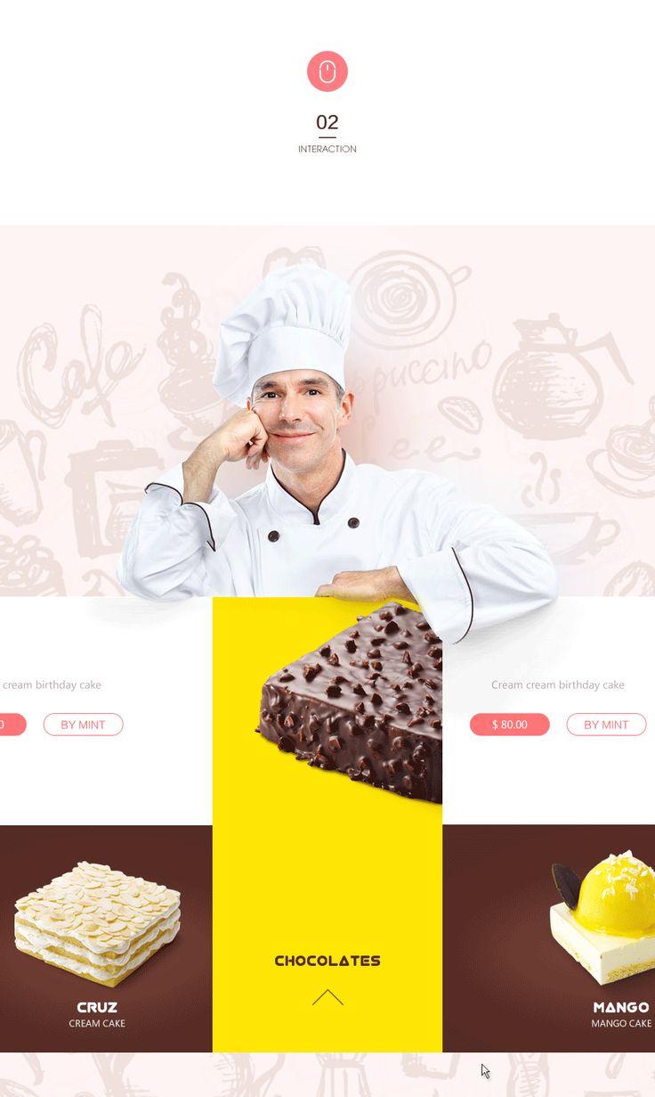 查看《甜品蛋糕网页设计》原图,原图尺寸:900x1506