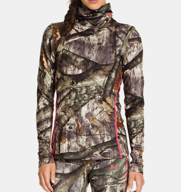 UA ColdGear® Infrared EVO Scrunch Neck Women's Hunting Long Sleeve