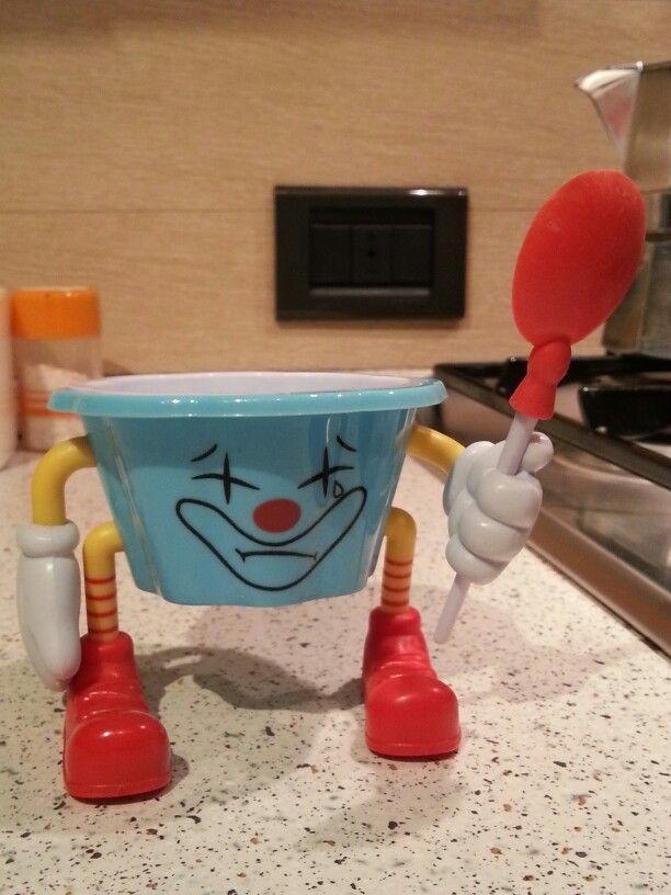 Funny ice cream cup by Italia Multimedia and Laboratori Creativi Beretta :-)