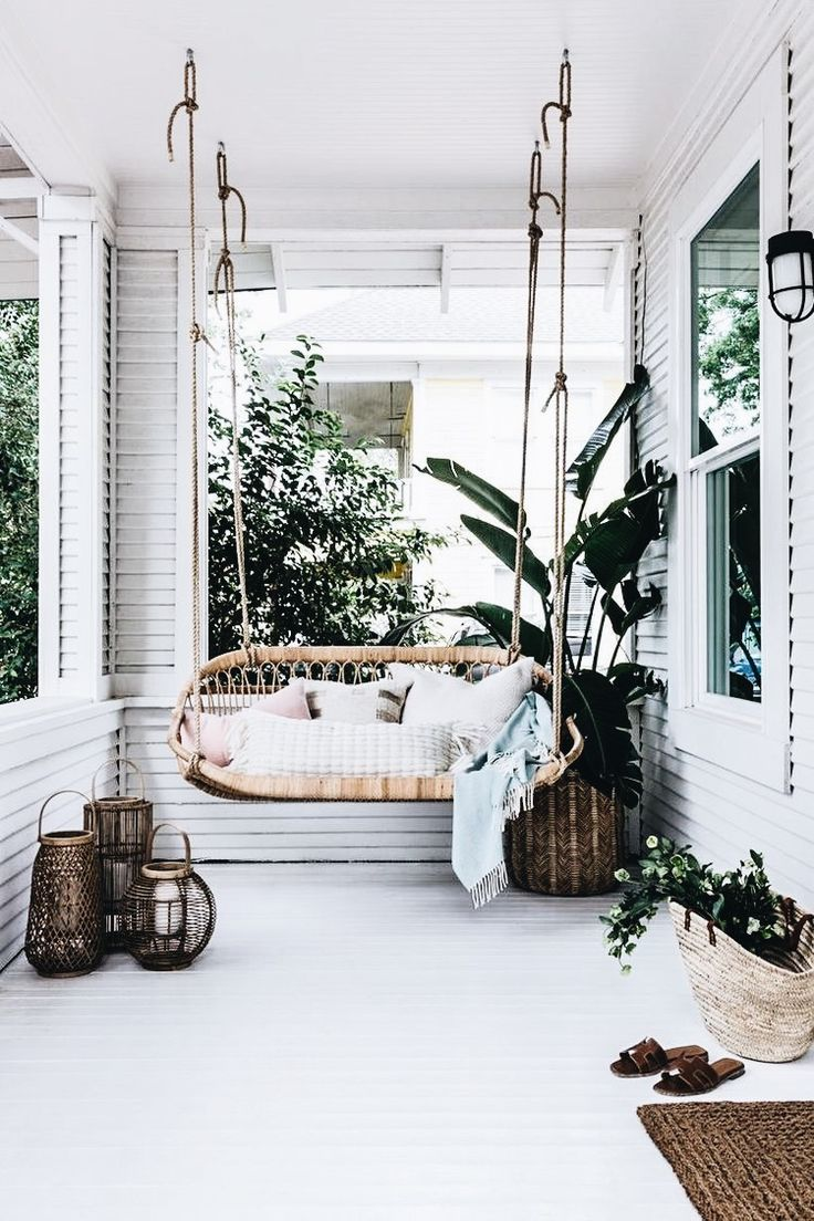 Front porch at the new Camille Styles