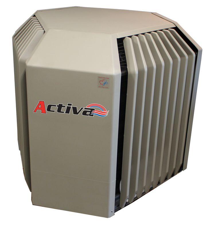 Turcotte Activa  Une thermopompe conçue et fabriquée au Québec depuis 1989. Elle a été conçue pour chauffer contrairement au produits américains qui sont conçus pour climatiser. Au Québec nous chauffons nos maisons beaucoup plus longtemps que nous climatisons. Il y va du bons sens de se procurer une thermopompe qui chauffe.