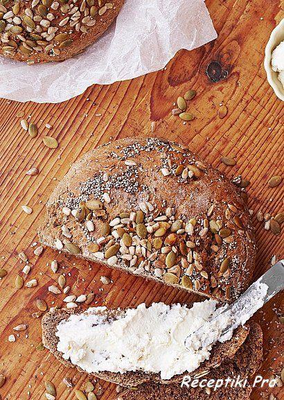 Хлеб из полбы (муки со спельтой)
