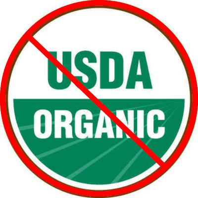 USDA organic doesn't always mean it's GOOD. Carrageenan is highly toxic, yet organic, and it's in LOTS of dairy and dairy substitutes.