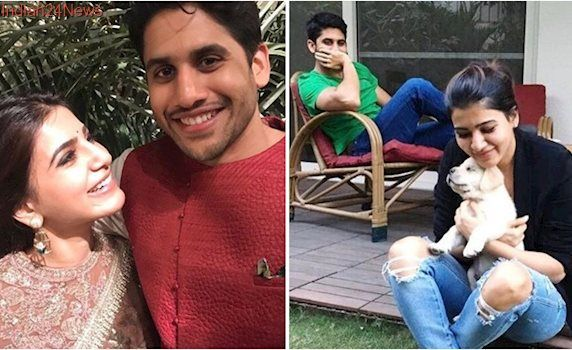 Naga Chaitanya and Samantha Ruth Prabhu prove that a couple that works out together, stays together. Watch videos